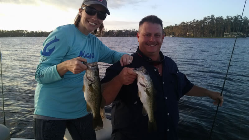 Orlando Group Bass Fishing Trip